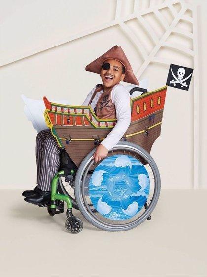 Los disfraces de Halloween de esta cadena de grandes almacenes están diseñados para niños con discapacidades