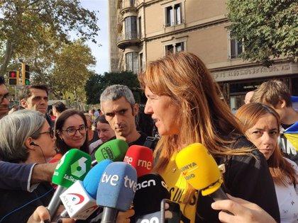 """Borràs (JxCat) reta a Sánchez a ir a Cataluña a """"entender qué está pasando"""""""