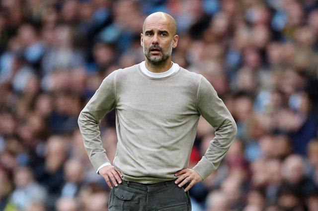 Pep Guardiola, entrenador del Manchester City.