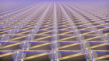 Producen un procesador cuántico a gran escala hecho sólo de luz