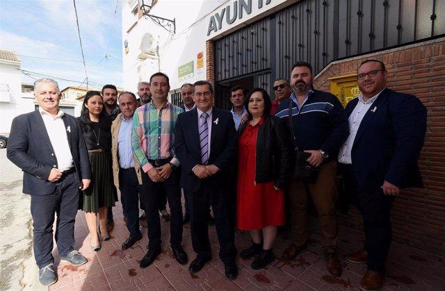 Encuentro de la Diputación con alcaldes de los Montes