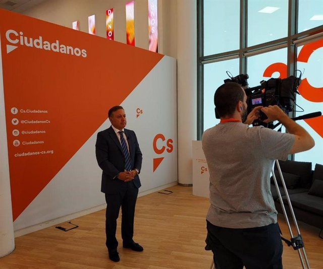 El candidat de Cs al Congrés per Balears, Joan Mesquida.