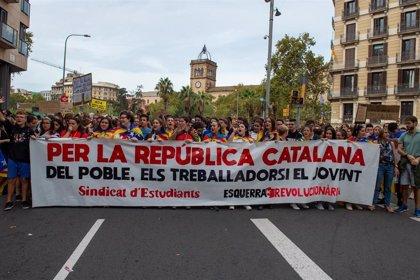 Seguimiento de la huelga superior al 90% en institutos de Lleida y Terres de l'Ebre