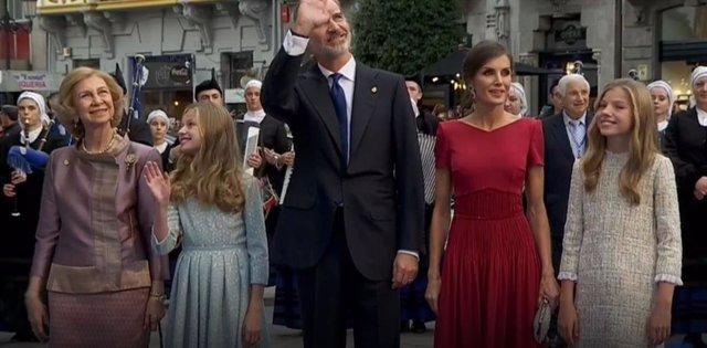 Premios.- La Princesa Leonor preside por primera vez la ceremonia de entrega de