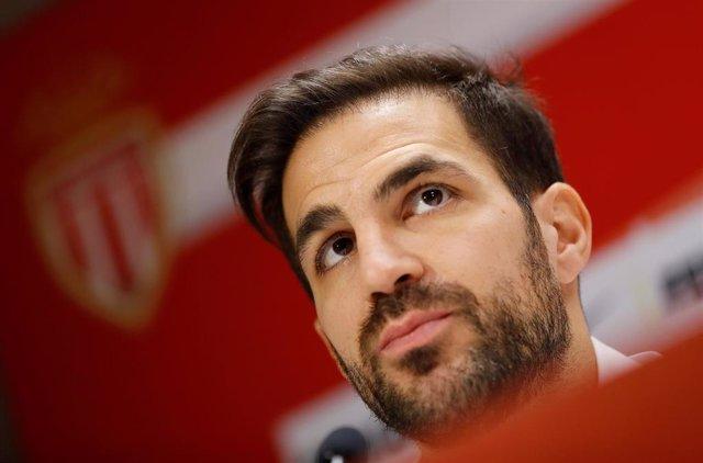 El jugador español del AS Mónaco Cesc Fábregas