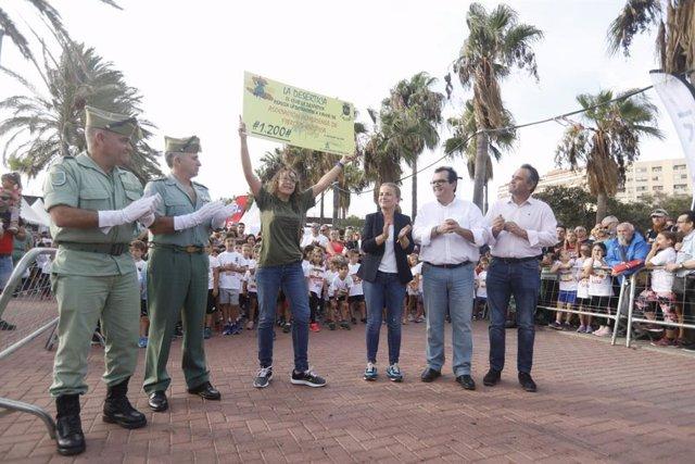 Celebración de la fiesta del corredor en Almería
