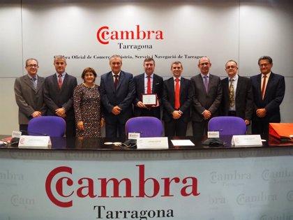 La Cámara de Comercio de Tarragona entrega el premio a la Internacionalización a Ercros