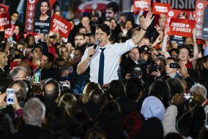 Trudeau asume que tendrá que luchar por la reelección voto a voto porque los conservadores podrían ganar