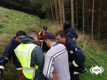 Concluye sin éxito la tercera jornada de búsqueda del octogenario desaparecido en Tineo