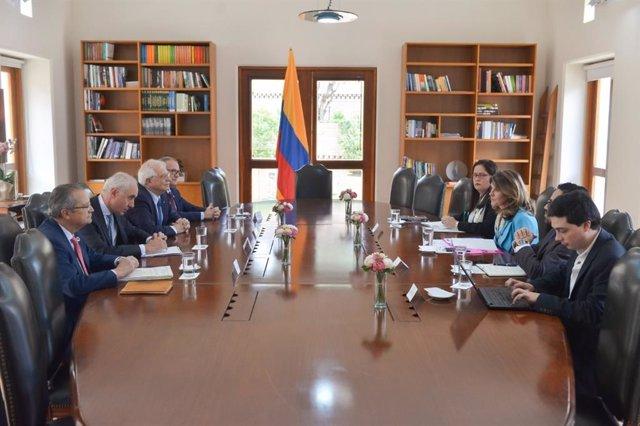 Reunión entre España y Colombia sobre el Galeón San José