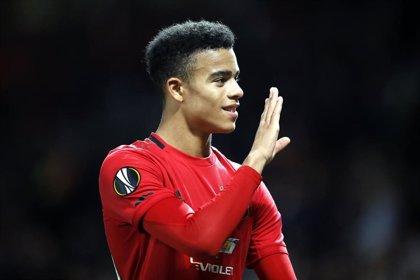El Manchester United renueva al canterano Mason Greenwood hasta junio de 2023