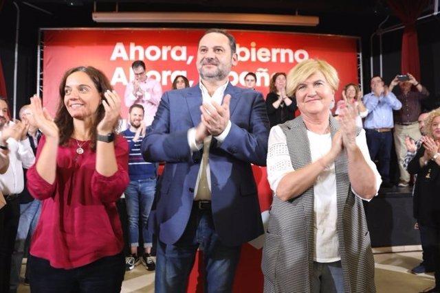 José Luis Ábalos en un acto en Getafe