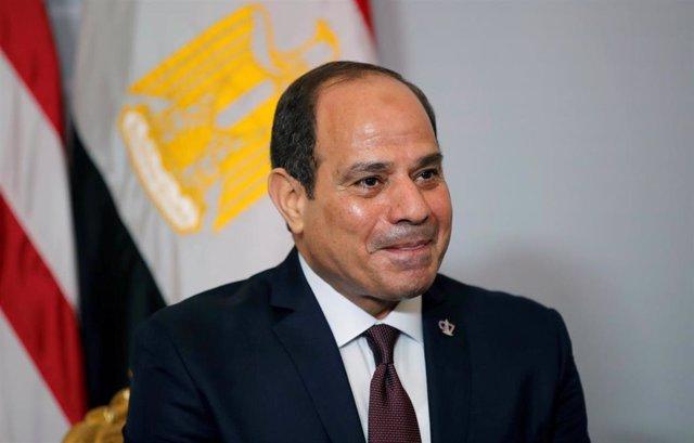 El presidente egipcio, Abdelfatá al Sisi