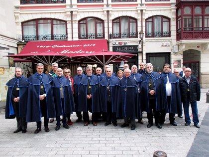 La Cofradía de San Gregorio celebra su hermanamiento con la Cofradía del Santo de Santo Domingo de La Cazada
