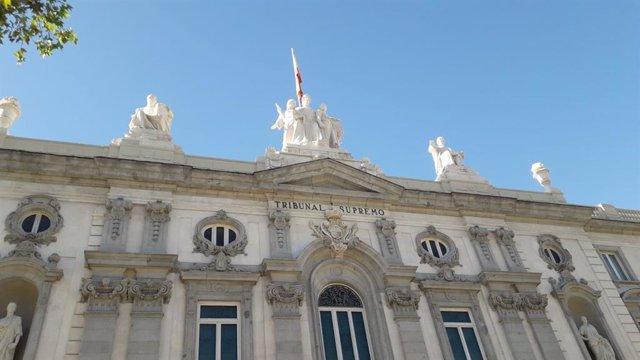 Imagen de recurso de la fachada del Tribunal Supremo