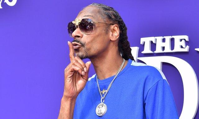Snoop Dogg durante la presentación de 'La familia Adams'
