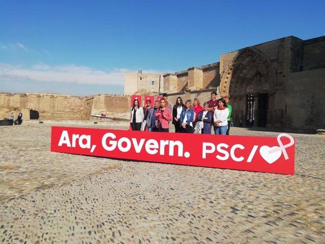 Meritxell Batet (PSC) a Lleida