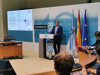 """Facenda insiste en la """"prudencia"""" de las cuentas de 2020 frente al """"bullying financiero"""" del Estado con Galicia"""