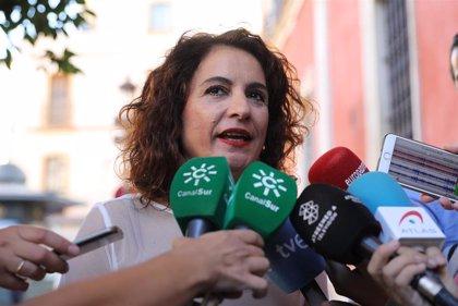 """Montero ve """"poco ambicioso"""" el Presupuesto andaluz: """"No hay nada de lo que el PP prometió en campaña"""""""