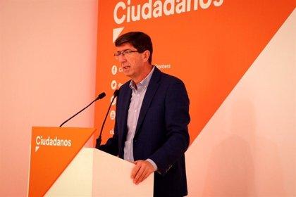 """Marín (Cs) pide al Gobierno que actúe en Cataluña: """"Nadie duda de que es necesario aplicar de forma inmediata el 155"""""""