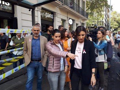 """Lorena Roldán (Cs): """"Los radicales separatistas han convertido Catalunya en territorio comanche"""""""
