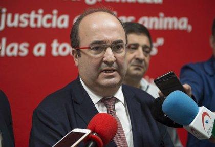 """Iceta (PSC) pide a Torra que """"se aparte"""" y le dice que el diálogo no es con Sánchez sino con la sociedad catalana"""