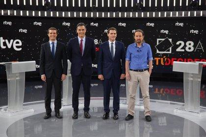 Unidas Podemos pide que RTVE celebre un debate propio entre los candidatos a la presidencia del Gobierno