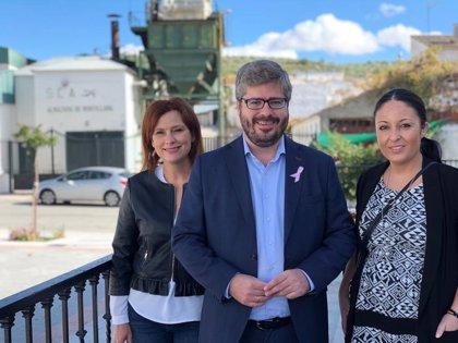 """El candidato de Ciudadanos al Congreso reivindica las propuestas para incentivar a empresas de """"la Granada despoblada"""""""