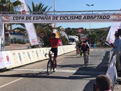 El ciclista pacense Rubén Tanco se proclama campeón de la Copa de España por segundo año consecutivo