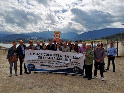 """Berja subraya que """"el primer escollo"""" a solventar con la presa de Siles (Jaén) es la delimitación de zona regable"""