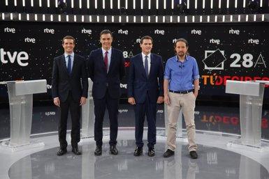 Unides Podem demana que RVTE celebri un debat entre els candidats a la presidència del Govern central (Ricardo Rubio - Europa Press - Archivo)
