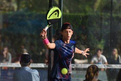El deportista toledano Andrés Fernández Lancha, campeón del mundo de Pádel de Menores con 14 años