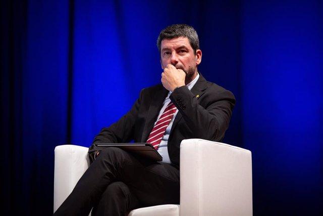 El president de la Cambra de comerç de Barcelona, Joan Canadell