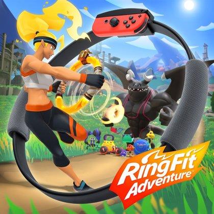 Ring Fit Adventure, el juego de Nintendo Switch que combina aventura mientras haces ejercicio