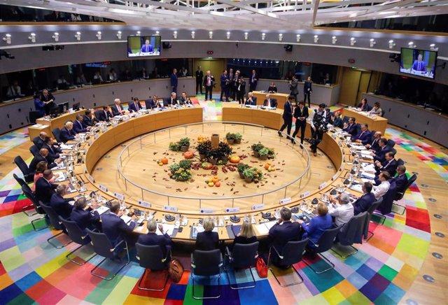 Reunión de la UE en Bruselas