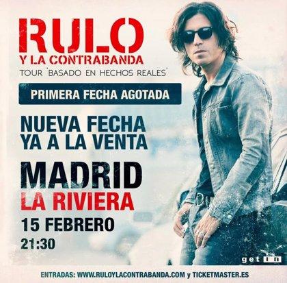 Rulo y La Contrabanda agotan entradas y anuncia segunda fecha en Madrid