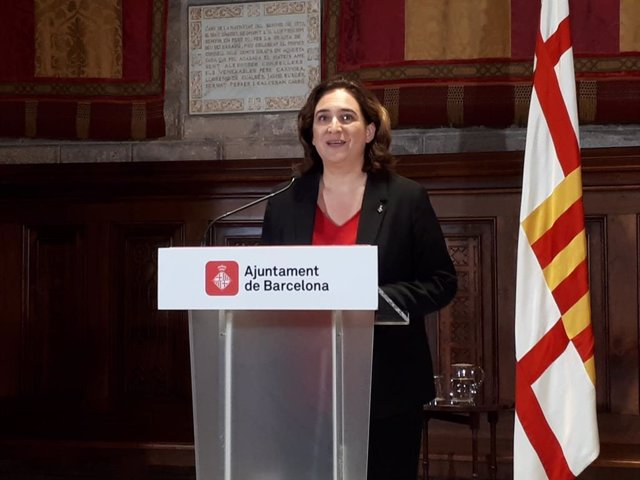 L'alcaldessa de Barcelona, Ada Colau.