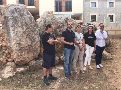 El Ayuntamiento de Palma y entidades vecinales de Sant Jordi recuperan el yacimiento de Cas Quitxero