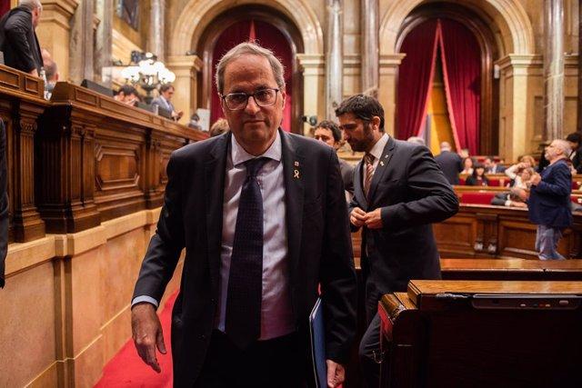 El president de la Generalitat de Catalunya, Quim Torra.