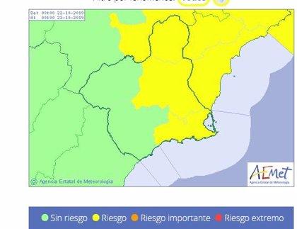 La Región estará en alerta amarilla este martes por lluvias que pueden dejar hasta 20 l/m2 en una hora