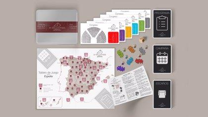 Emprendedores lanzan un juego de mesa que explica la mecánica de una campaña electoral