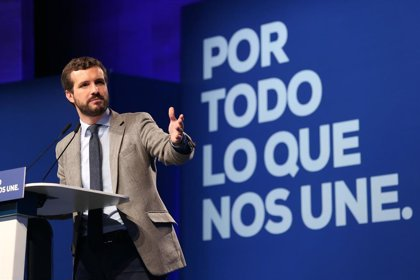 """Casado apela al pacto por el agua del PP y aboga por """"respetar"""" las demandas que tiene Castilla-La Mancha"""