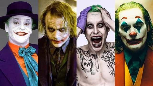 Las diferentes versiones de Joker