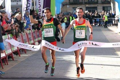 Luis Miguel Sánchez y Gemma Arenas, campeones de España de maratón