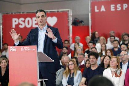 Sánchez y Abascal coincidirán en Málaga capital el próximo martes en actos con motivo del 10N