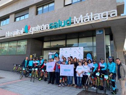 El #DesafíoQuirónsalud 2019 Pedaleando por la Inclusión finaliza en el Hospital Quirónsalud Málaga