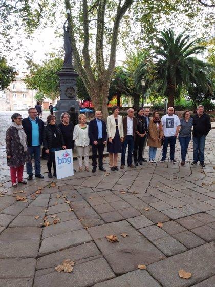 """Ana Pontón subraya que """"la crisis industrial gallega"""" evidencia la """"urgencia de hacerse valer en el Estado"""""""
