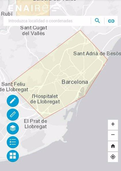 Los Mossos detectan 85 drones no autorizados sobrevolando Barcelona este fin de semana