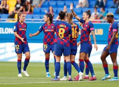 El Deportivo le aguanta el pulso en la Primera Iberdrola a un Barça demoledor arriba