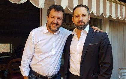 """Abascal asegura que Salvini """"se equivoca"""" y dice que Vox no aceptará su """"guiño al separatismo"""""""